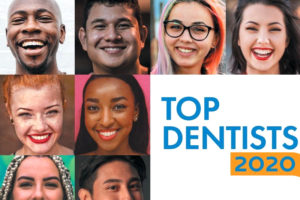 """the headliner of the """"Top Dentists 2020"""" article in Pasadena Magazine"""